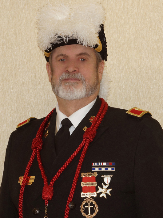 Right Eminent Grand Commander Fredrick A. Beitter