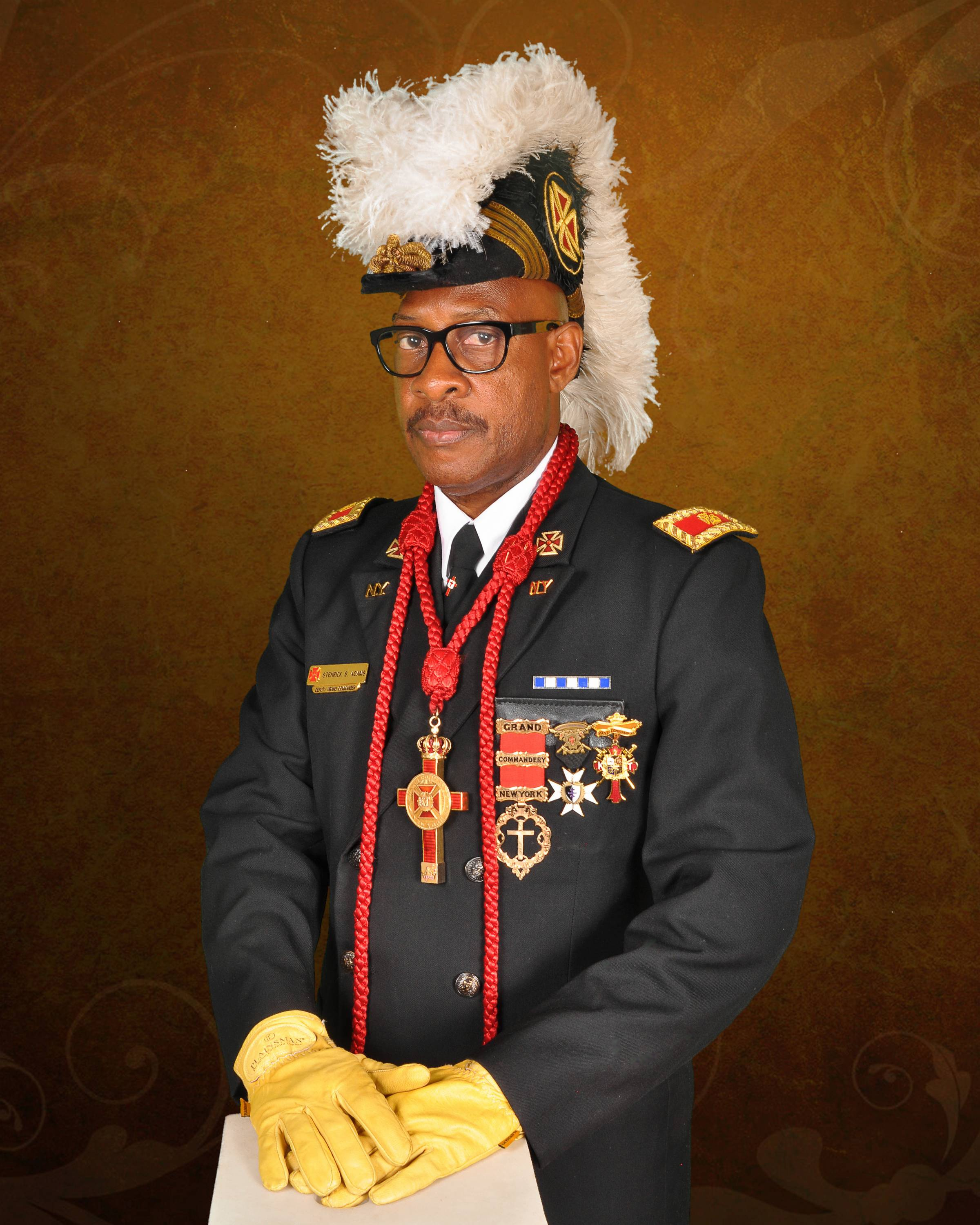 Right Eminent Grand Commander Stenrick Adams